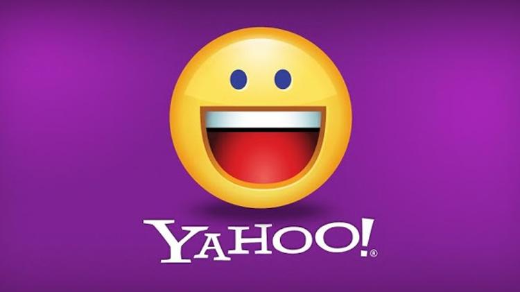 Logo de Yahoo Messenger avec une frimousse
