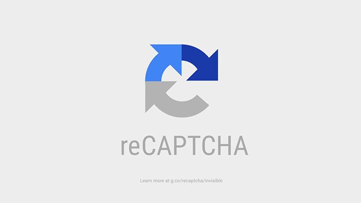 Logo ReCAPTCHA de la société Google