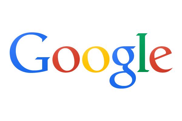 Logo de Google sur fond blanc