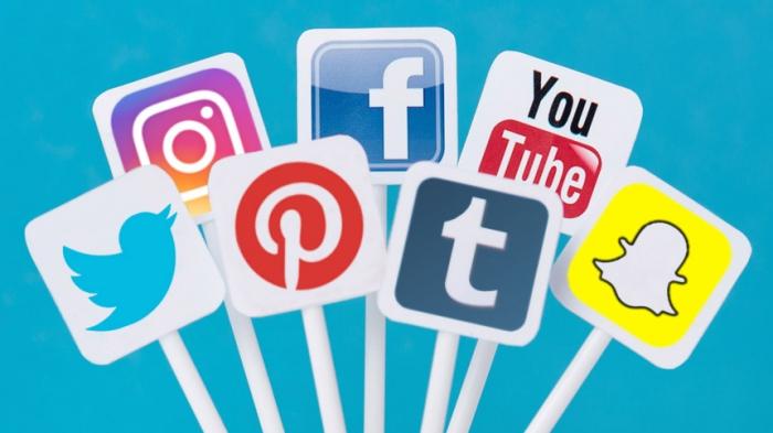 Logos des principaux réseaux sociaux