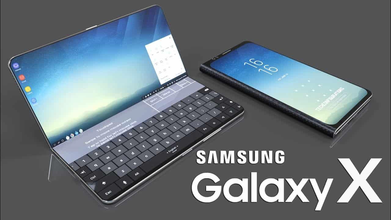 Présentation d'un smartphone Samsung Galaxy X