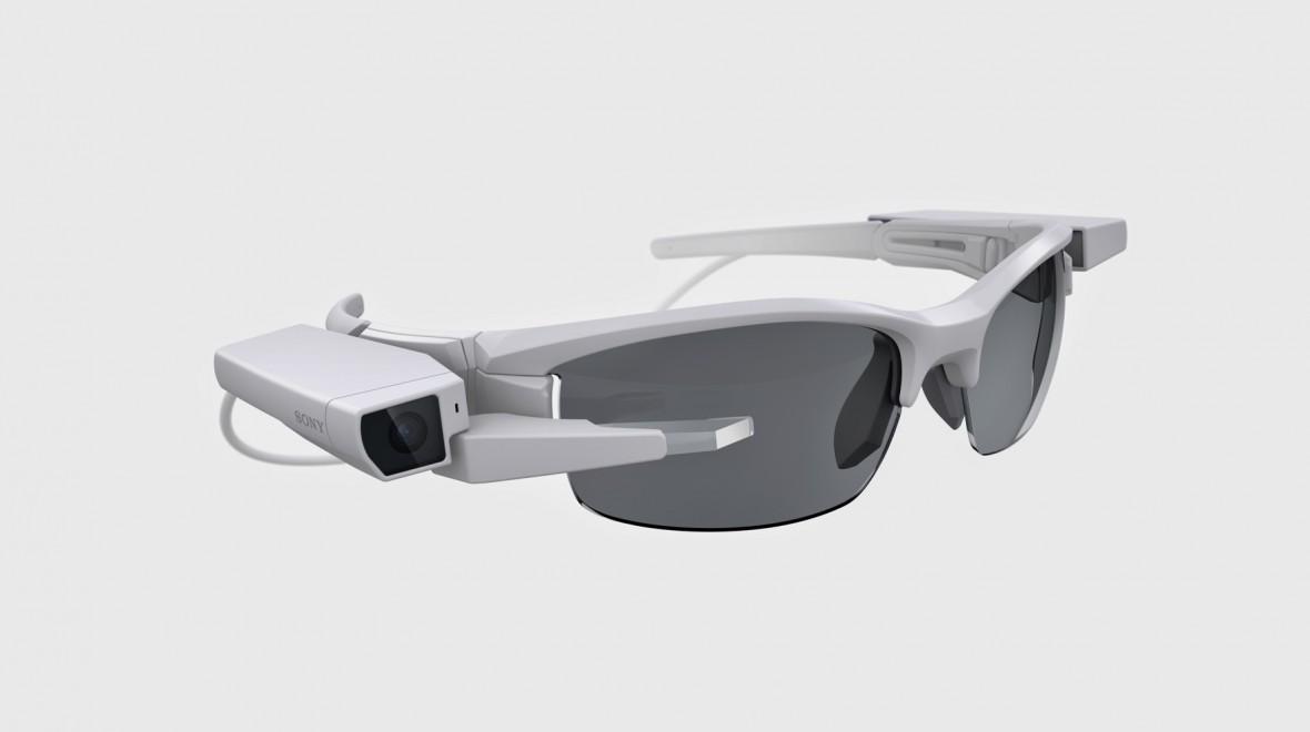 Photo représentant les lunettes connectées de Sony SmartEyeGlass