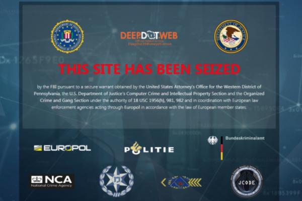 Capture d'écran de la page web de Deep Dot Web