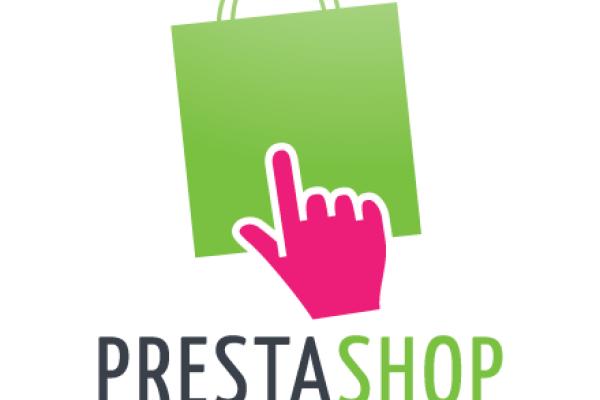 Logo de Prestashop sur fond blanc