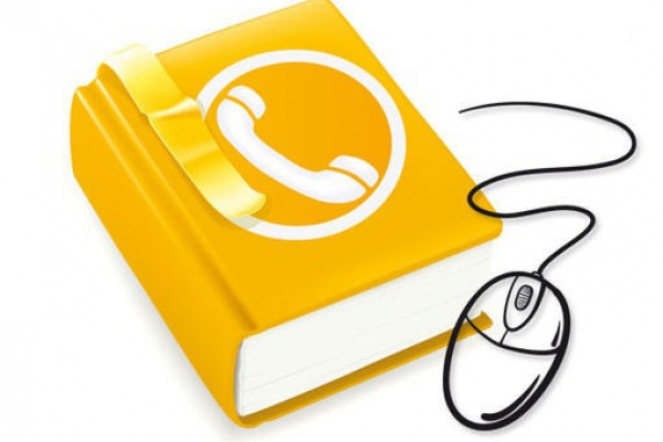 Image représentant un annuaire et une souris